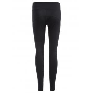 Quick-Dry Tight Yoga Pants - BLACK M