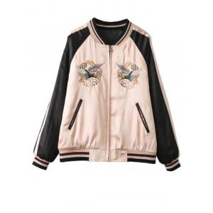 Double Side Embriodered Jacket -
