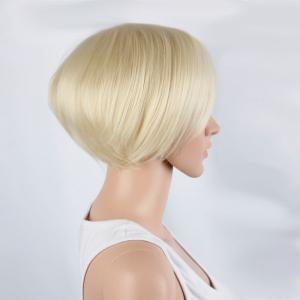Graceful Short Side Bang Straight Synthetic Wig -