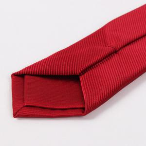 High Grade Twill Pattern Pure Color 6.5cm Widt Tie -