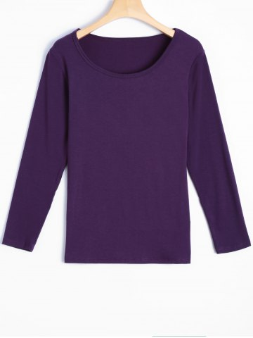 Fashion Elastic Long Sleeve T-Shirt