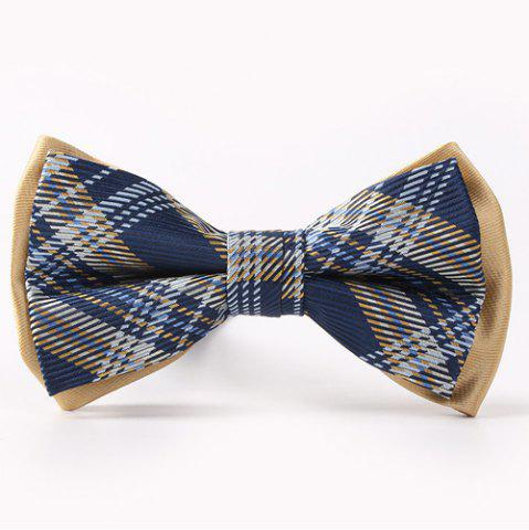 Store Horizontal Pinstripes Pattern Double-Deck Bow Tie