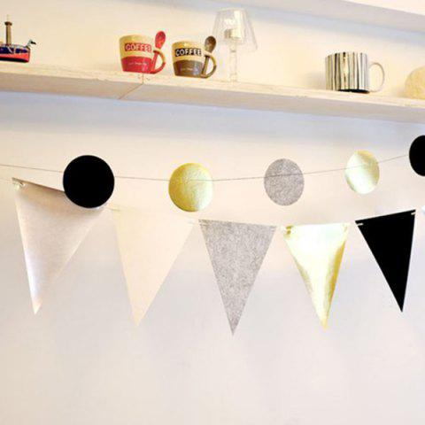 Cheap Pennant Flag Banner Prop Party Home Decoration