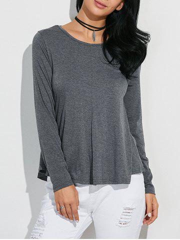Hot Classic Loose-Fitting T-Shirt GRAY L