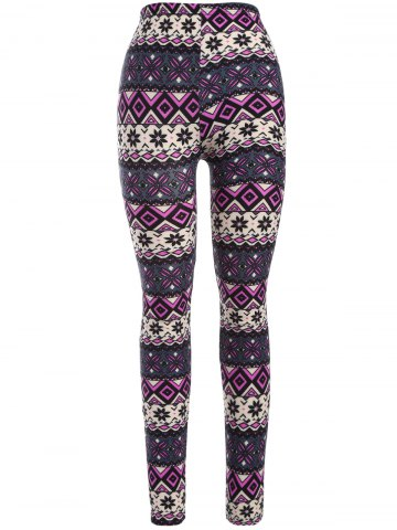 Shops Mid Rise Print Leggings