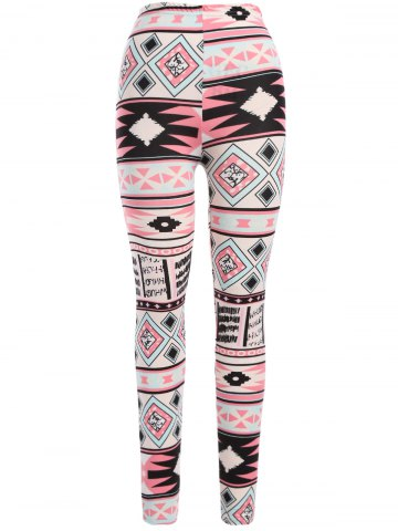 Sale Colorful Geometric Leggings
