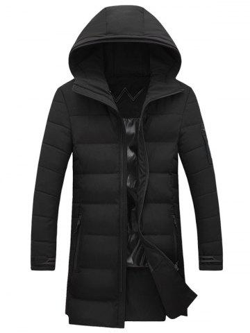 Best Hooded Lengthen Thicken Cotton-Padded Coat
