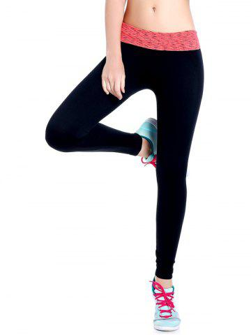 Fashion Space Dyed Stretchy Yoga Leggings