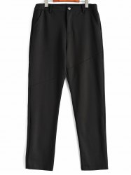 Plus Size Welt Pockets Harem Pants