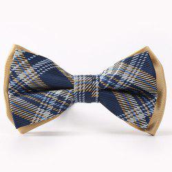 Horizontal Pinstripes Pattern Double-Deck Bow Tie -