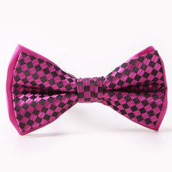 Plaids Pattern Double-Deck Bow Tie
