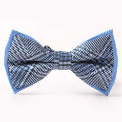 Cross Pattern Double-Deck Bow Tie -