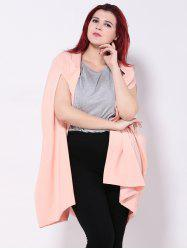 Loose-Fitting Asymmetric Cape