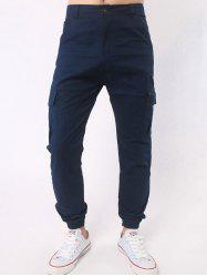 Side Pockets Chino Cargo Pants -
