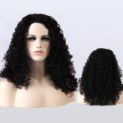 Adiors Medium Fluffy Afro Curly Synthetic Wig