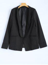 Front Pocket Slim  Fitted Blazer -