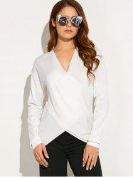 Criss Corss Asymmetric Sweater -