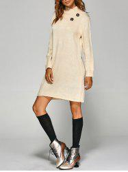 Tunic Knitted Long Sleeve Dress