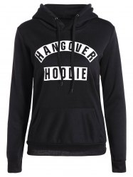 Casual Drawstring Hangover Hoodie