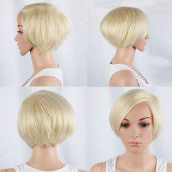 Graceful Short Side Bang Straight Synthetic Wig