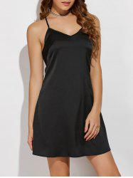V Neck Cami Mini Dress -