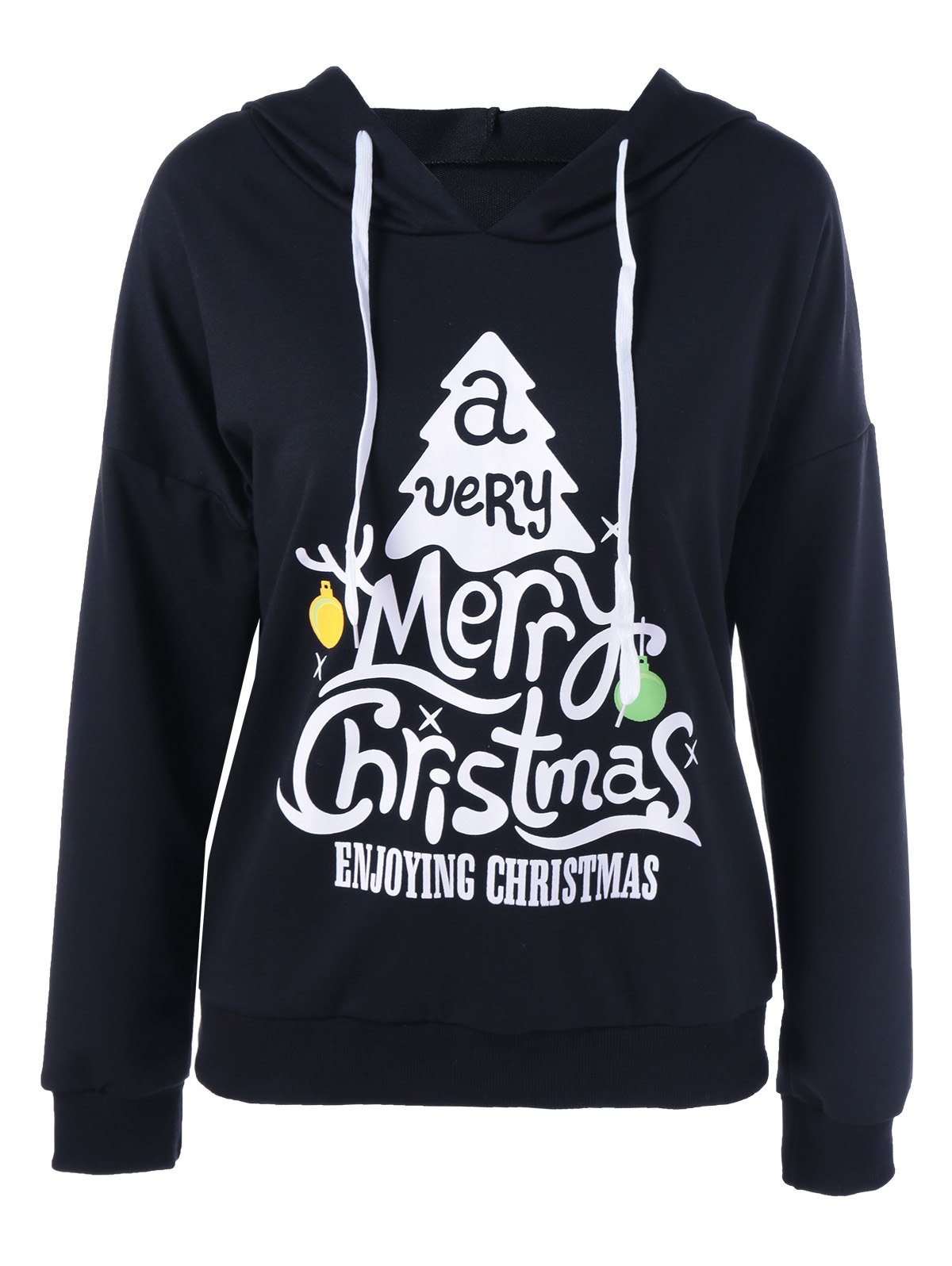 Cheap Enjoying Christmas Pullover Hoodie