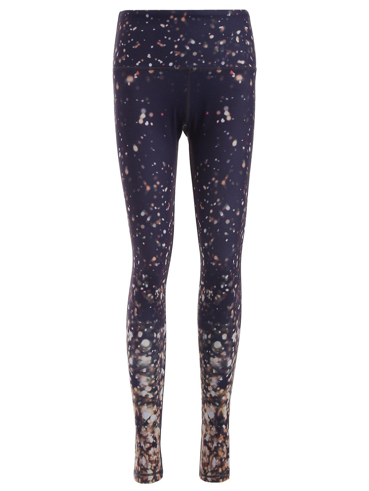 Legging Yoga Galaxie Imprimée