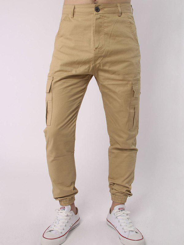 hot-selling real super service yet not vulgar Side Pockets Chino Cargo Pants