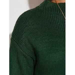 Knit High Low Sweater -