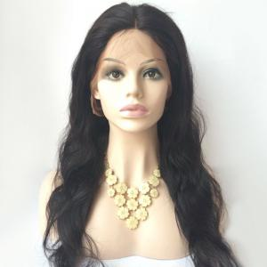 Middle Parting Long Body Wave Lace Front Human Hair Wig -