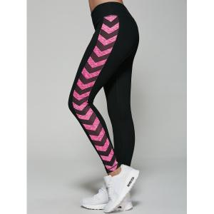 Quick Dry Printed Yoga Running Leggings