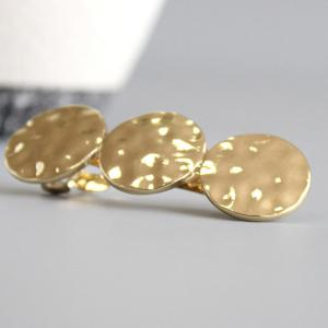 Circle Sequins Hair Accessory - GOLDEN