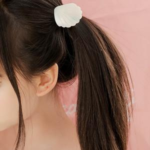 Conch Elastic Hair Band - Black