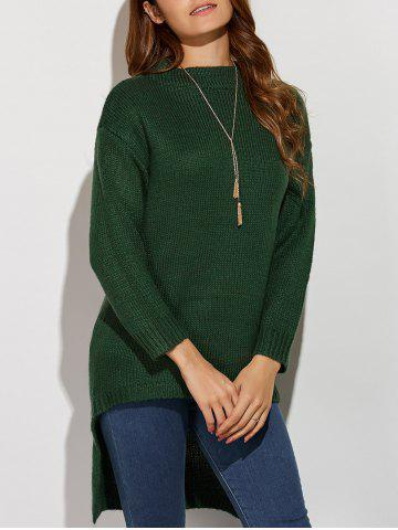 Fashion Knit High Low Sweater