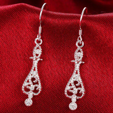 Hot Water Drop Jewelry Set - SILVER  Mobile