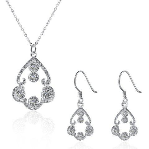 Latest Rhinestone Jewelry Set