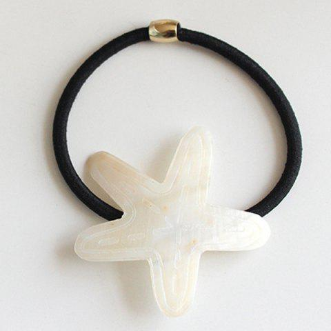 Starfish Elastic Hair Band - BLACK