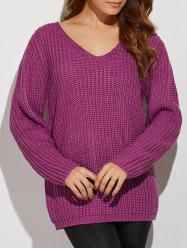 V Neck Crochet Pattern Sweater -