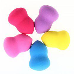 5 Pcs Pear Water Swellable Makeup Sponge