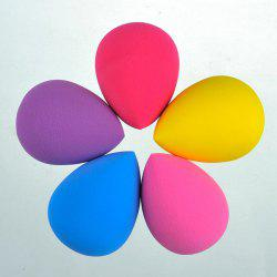 5 Pcs Teardrop Water Swellable Makeup Sponge - COLORMIX