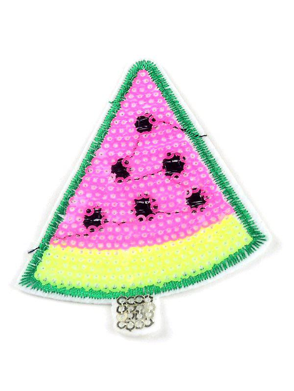 Outfits 10 PCS Watermelon Embroidered Sequins Patches