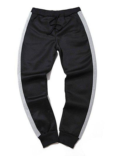 Sale Sportive Color Block Big and Tall Jogger Pants