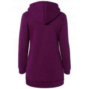 Thick Letter Pocket Hoodie -