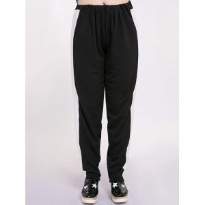 Two Tone Plus Size Harem Pants