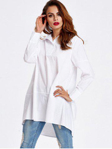 Outfit Loose High Low Shirt