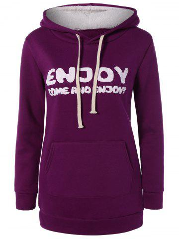 Online Thick Letter Pocket Hoodie
