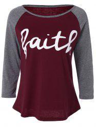 Faith  Raglan Sleeve T-Shirt