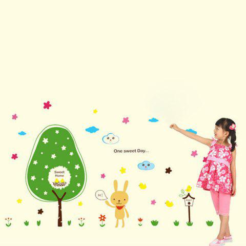 Fashion Cartoon Removable Children's Room Wall Stickers