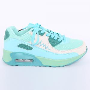 Fashion Colour Splicing and Breathable Design Athletic Shoes For Women -
