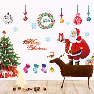 Showcase Christmas Tree Removable Wall Stickers -